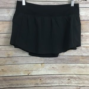 Lululemon Black Skort